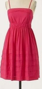Gorgeous pink Maeve shades of summer dress